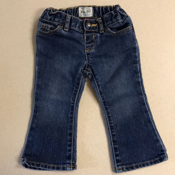 The Childrens Place Girls Basic Bootcut Jeans
